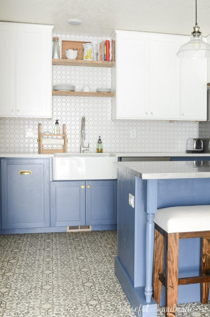 How To Build A Farmhouse Sink Base Cabinet Houseful Of Handmade