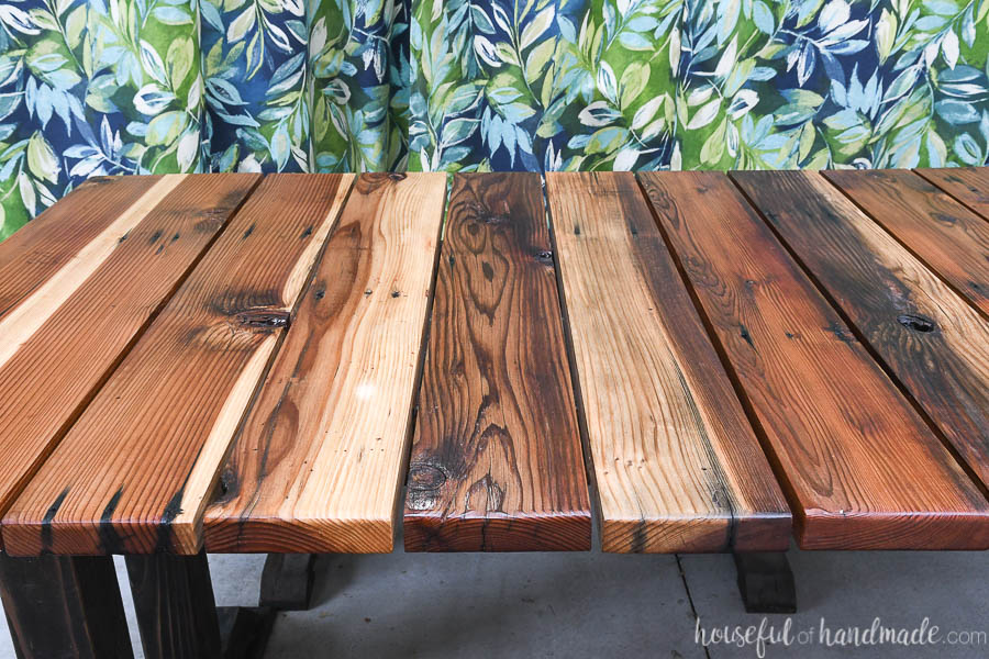 wood picnic table plans houseful of
