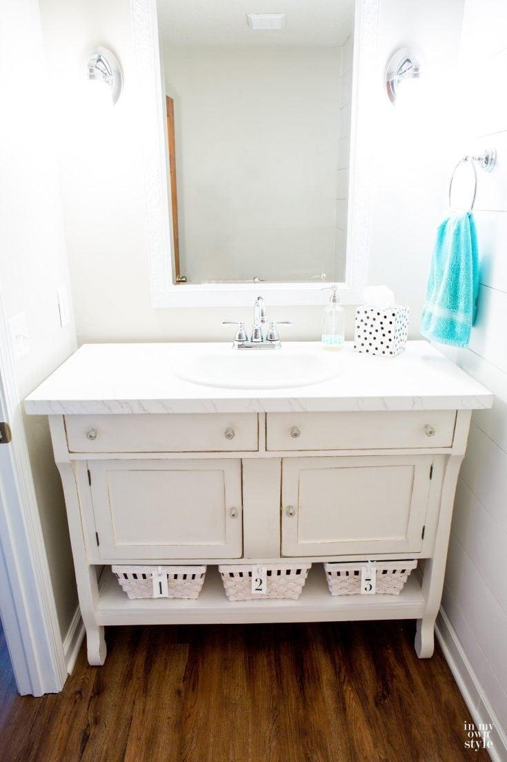 diy bathroom vanity ideas