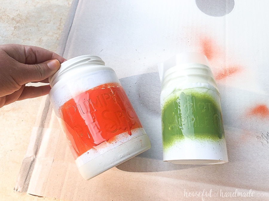 fall kitchen canisters 5 days of