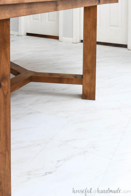 install peel and stick vinyl tiles