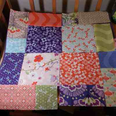 My First Quilt Top with Kate Spain – Sorta