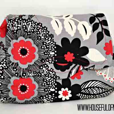 Pattern Review: I Think Sew's Flores Clutch