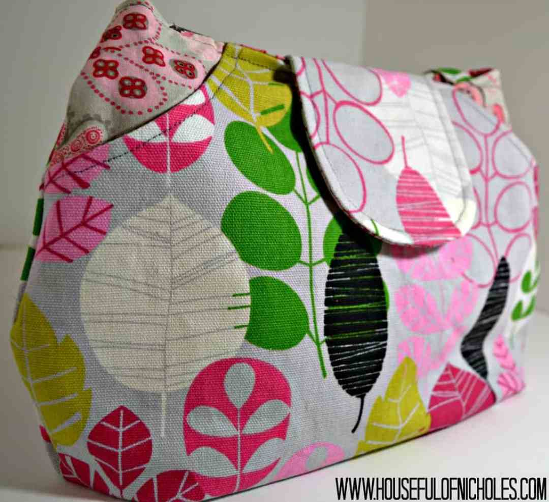 Lots Of Pockets Tote Front