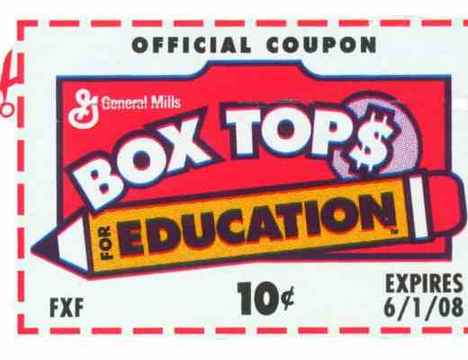 Box Tops Coupon