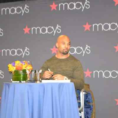 Macy's Fashion: Featuring Matt Forte of the Chicago Bears