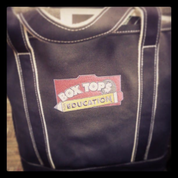 Land's End Box Tops Logo Bag