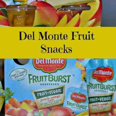 Del Monte Fruit Bursts and Cups  Review and Giveaway
