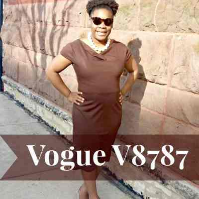 Vogue V8787 Pattern Review: Thread Filled Thursdays