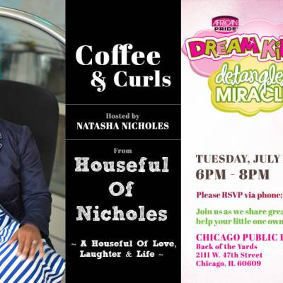 Chicago Sights: CHICAGO! I'm Hosting Coffee  & Curls July 8th #DreamKidsTMS #TryTMS