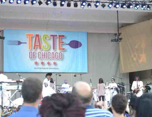 Janelle Monae at the Taste of Chicago