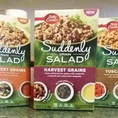 Easy Sides for School Days : Betty Crocker Suddenly Grain Salad