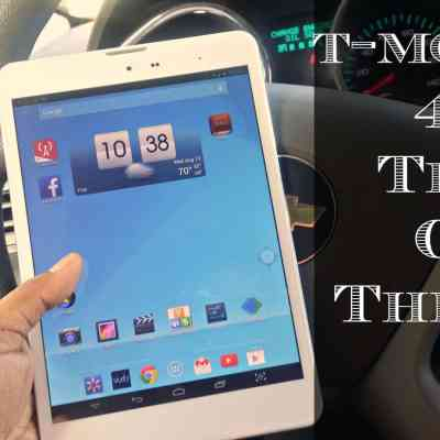 Tech On the Go – T-Mobile 4G Tablet  #TabletTrio
