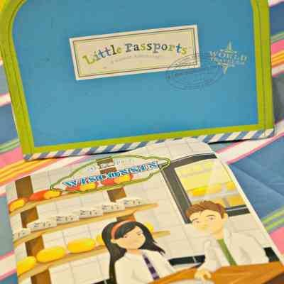 We're Traveling to Wisconsin! We've Got Little Passports