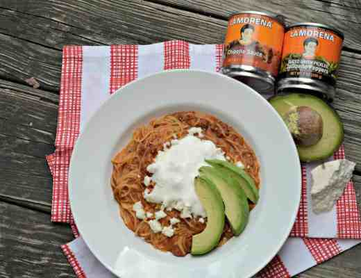Mexican Style Pasta with Chorizo and Chipotle Adobo - Houseful Of Nicholes