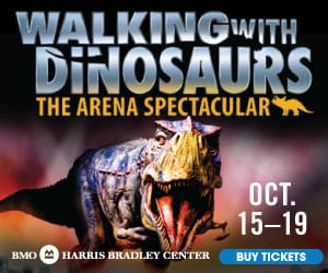 Walking With Dinosaurs - Milwaukee Wisconsin, BMO Harris Bradley Center