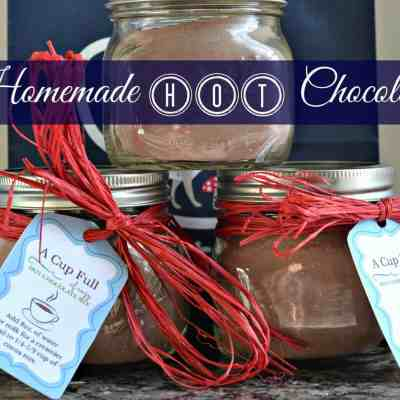 Homemade Hot Chocolate:  Tastes of the Season