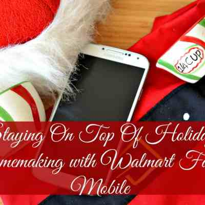 Staying On Top Of Holiday Homemaking #HolidaysAreCalling #ad