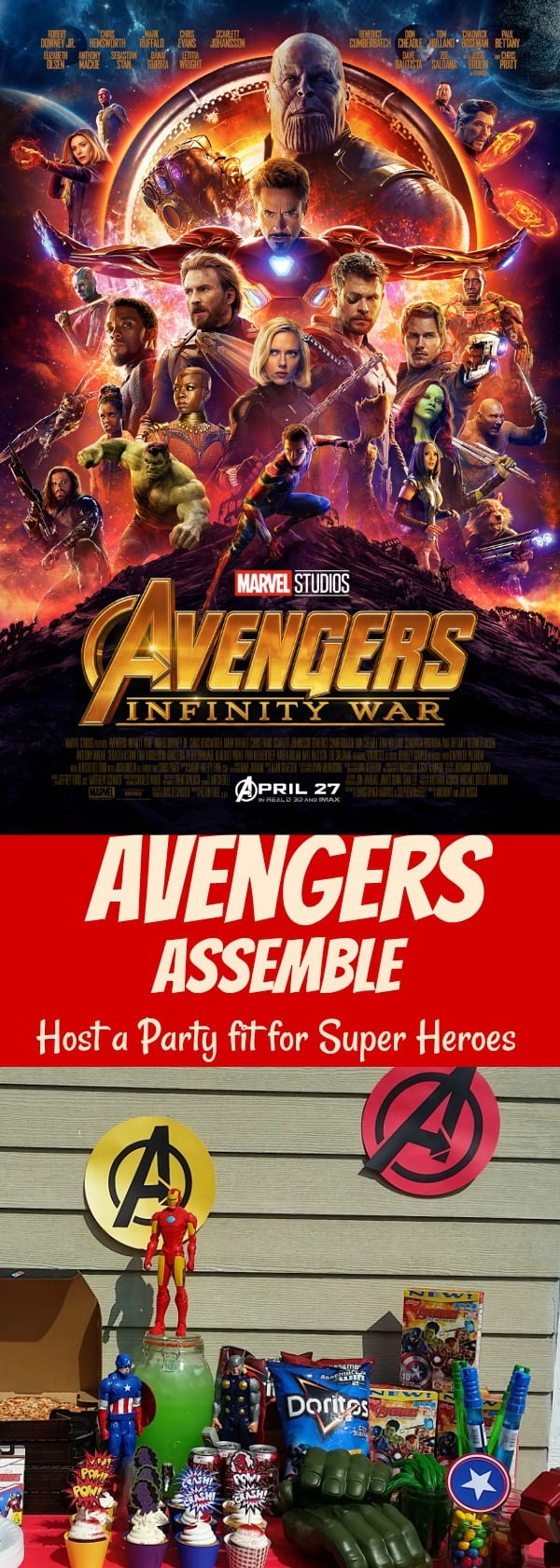 Avengers Super Hero Party