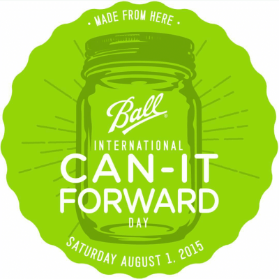 Canning It Forward: International #CanItForward Day 8/1