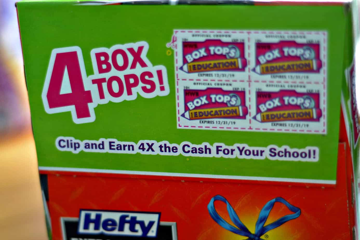 #Hefty4BoxTops-Four-Box-Tops