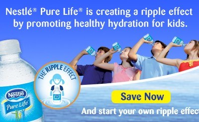 Nestle® Makes Keeping Hydrated Happens by Ripple Effect