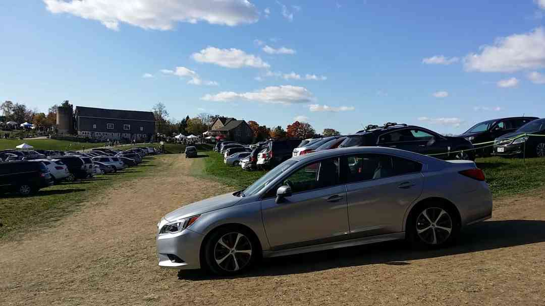 Subaru Legacy at Holy Hill Art Farm