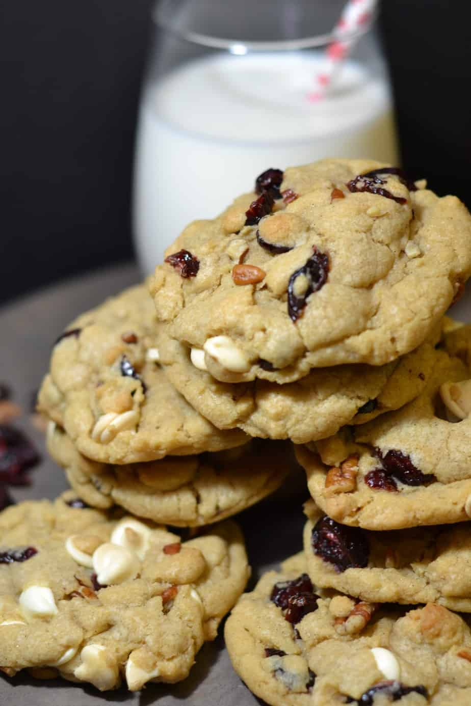 12 Days Of Cookies Nutty White Chocolate Cranberry Cookies