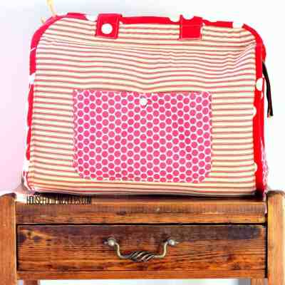 Maker's Tote by Noodlehead | The Houseful Sews