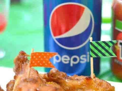 Pepsi™ Glazed Chicken Wings