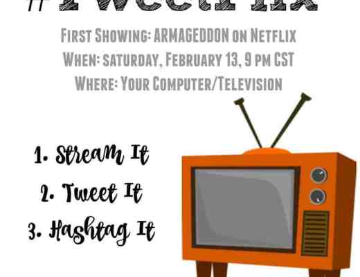 February's #TweetFlix Movie is Armageddon! Join Houseful of Nicholes and The Peanuts Gang on 2/13 at 9 pm CST as we livetweet the movie!