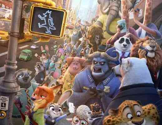 Zootopia in theaters March 4
