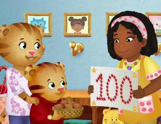 Daniel Tiger Back to School Week