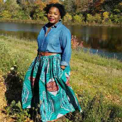OOTD: Ankara Maxi Skirt