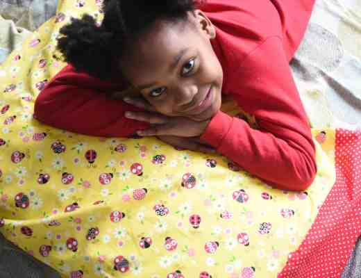 Learning to Sew a Pillowcase