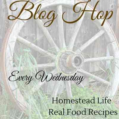 Homestead Blog Hop #137
