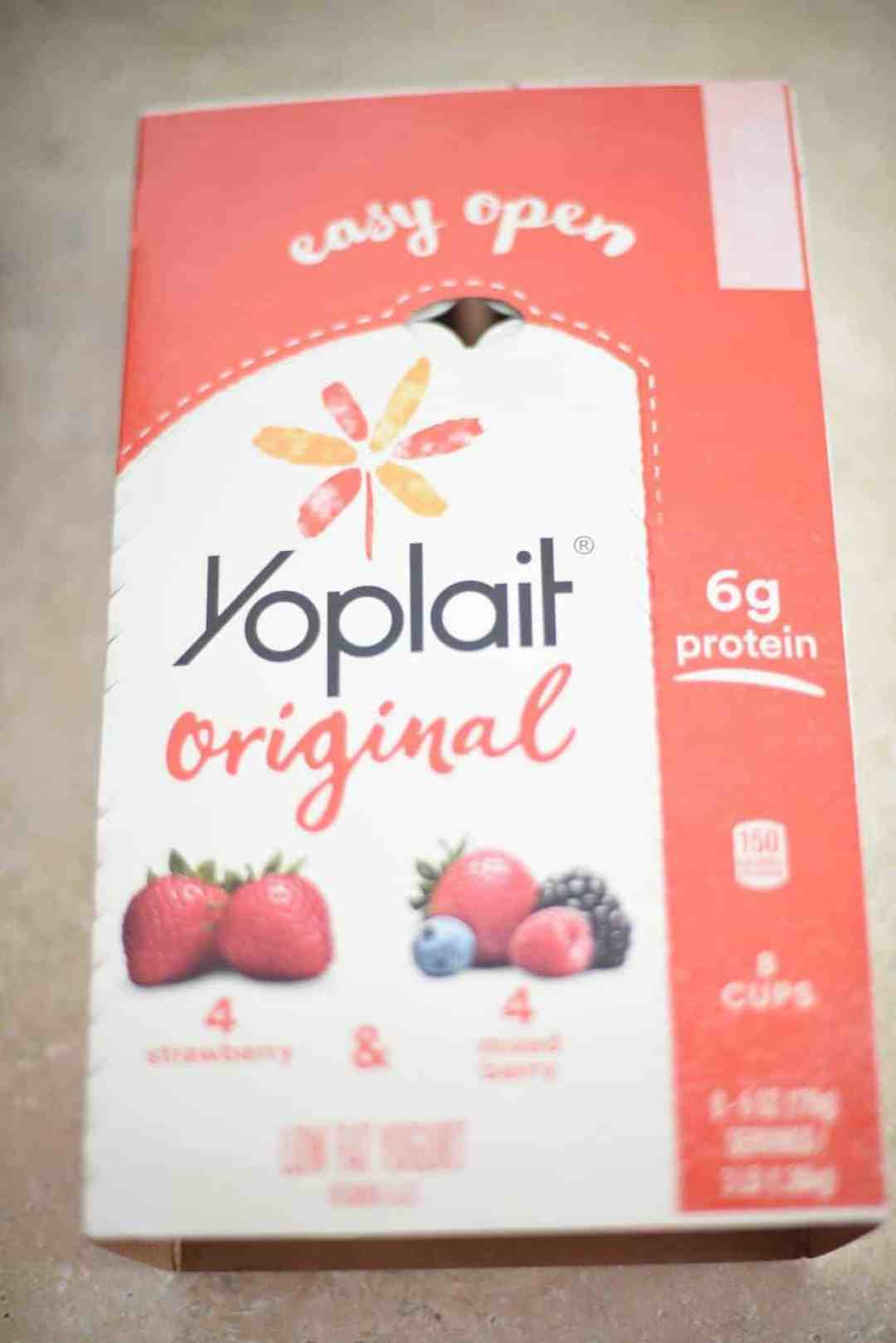 Yoplait Multipacks Makes for Easy Storage!