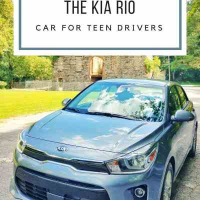 The NEW Kia Rio – A Car PERFECT for Teen Drivers