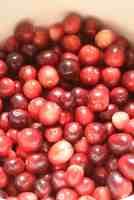Ove-Drying Cranberries