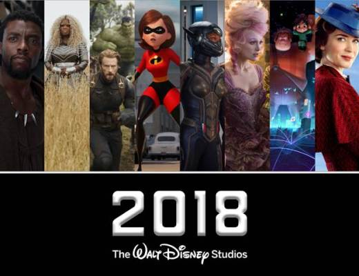 2018 Disney Movie Lineup