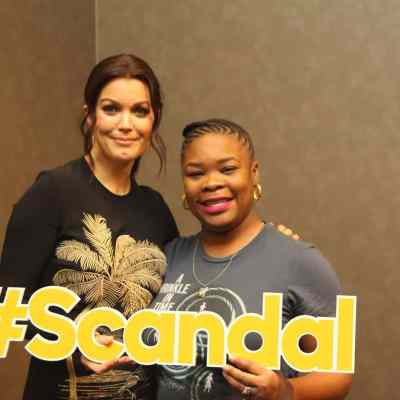 An Afternoon with Bellamy Young of Scandal #Scandal #ABCTVEvent #WrinkleInTimeEvent