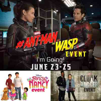 Going Back to LA for the Ant-Man & Wasp Event