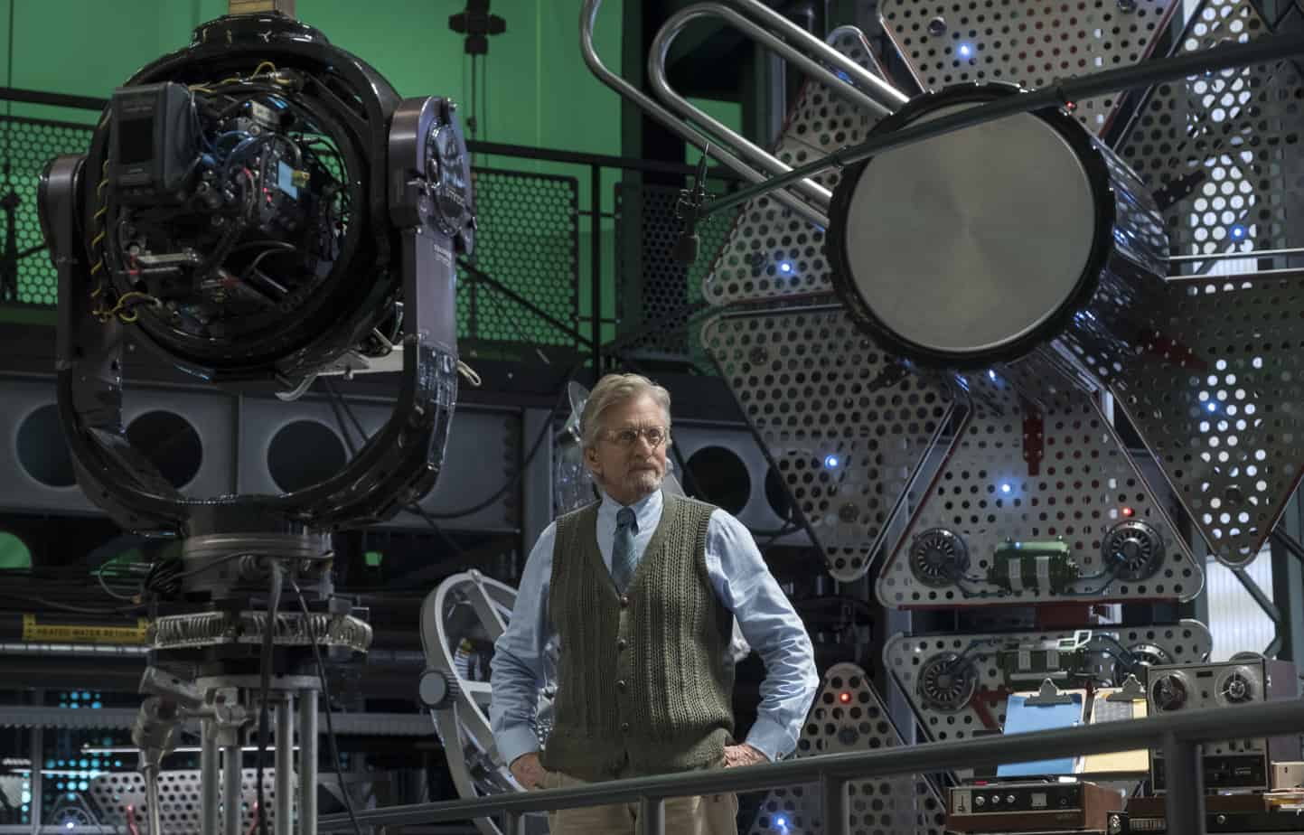 Michael Douglas on Ant-Man and The Wasp
