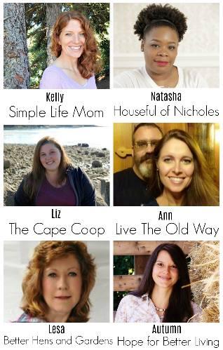 Homestead Blog Hop Hosts