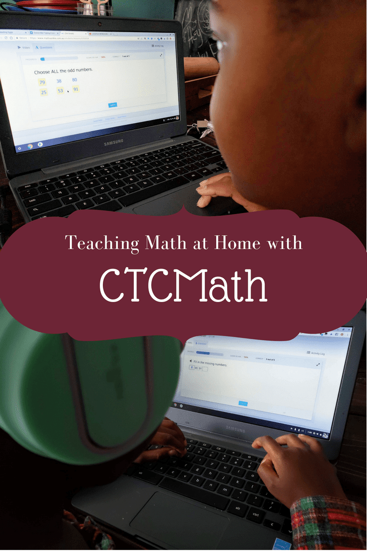 CTCMath Homeschool Curriculum