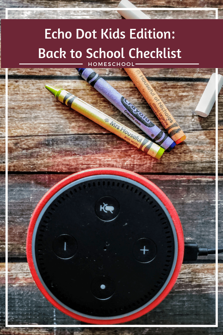 The Amazon Echo Dot Kids Edition is the perfect item for your school supply list. If you homeschool or don't - it's that helping hand you've been needing.