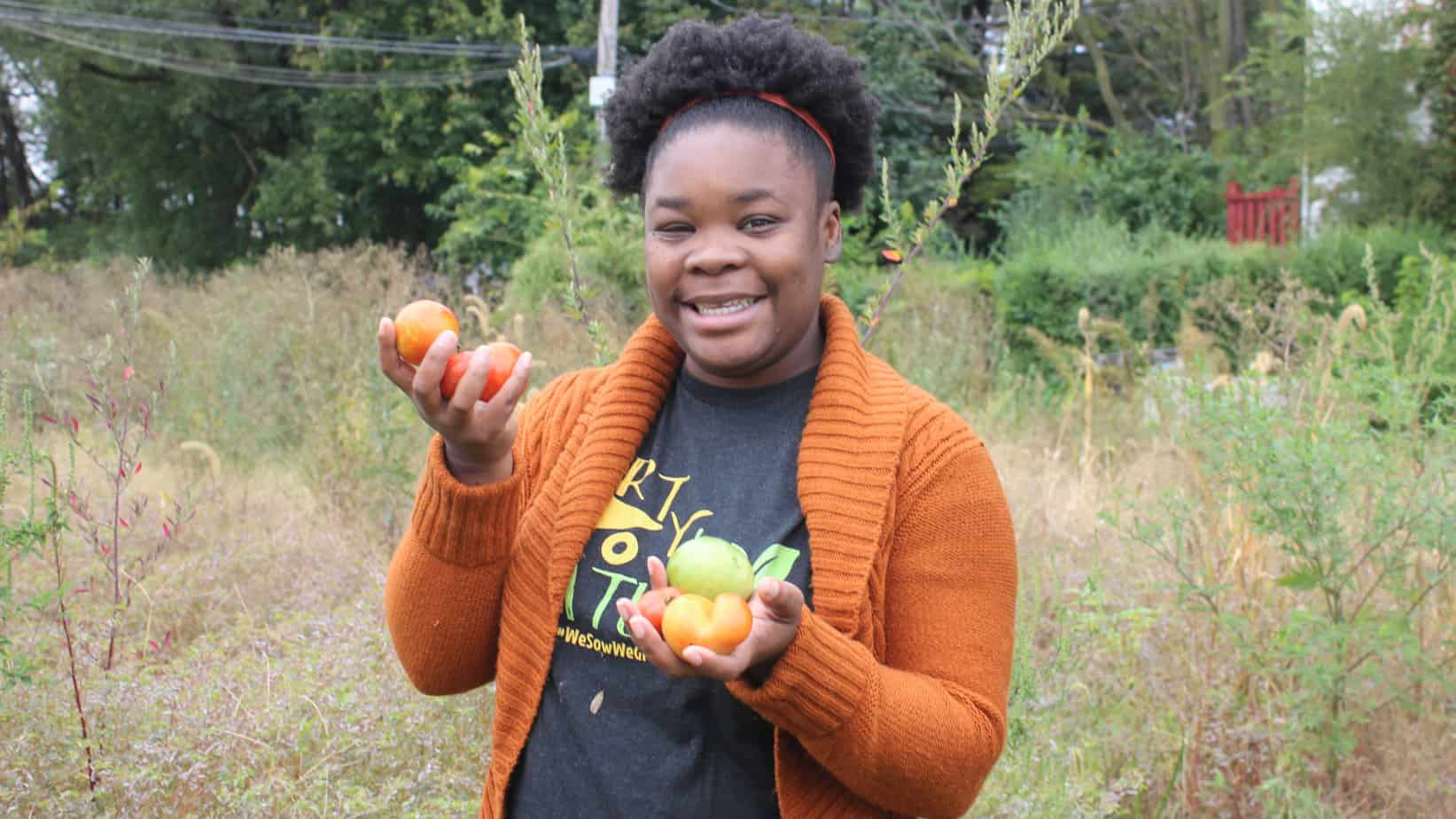 Natasha Nicholes is one of the two managers of the We Sow We Grow Project. A Community based gardening program that seeks to help Chicagoans and their state neighbors grow their own food confidently.