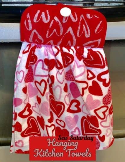 Homestead Blog Hop Feature - Hanging Kitchen Towels Tutorial