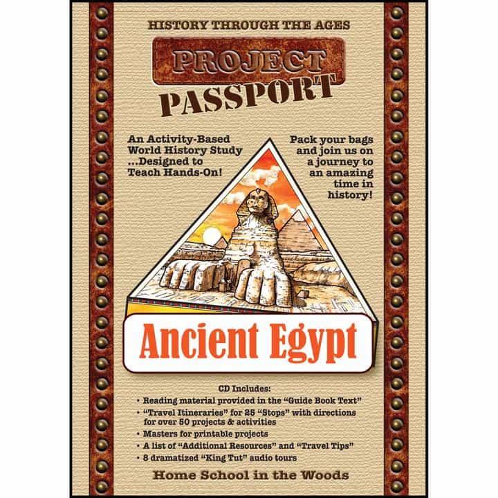 Homeschool In The Woods Project Passport: Ancient Egypt