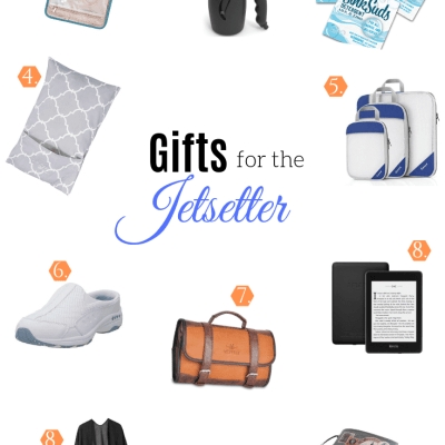 Top Ten Gifts for The Jetsetter